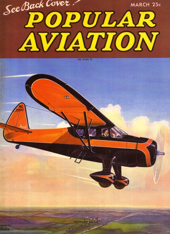 Popular Aviation Howard DGA-8